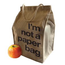 Reuseit Recycled Cotton Lunch Bag