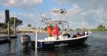 boating at New Port Richey