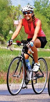 Jenny Willden Biking