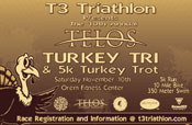 Telos Turkey Triathlon & 5K