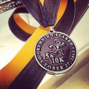 Running Scared Medal