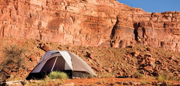 camping on Utah's public lands