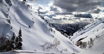 Scenic Powder Skiing