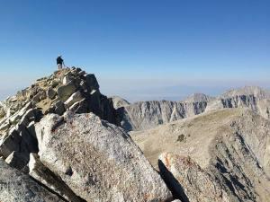 Photo of the Pfeifferhorn peak