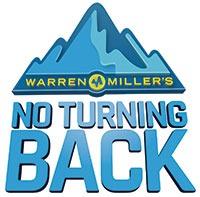 Warren Miller's No Turning Back logo