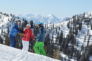 photo of skiers at Snowbird Resort