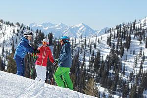 photo of skiers at Snowbird Resort