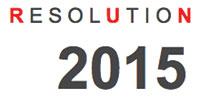Resolution Run logo