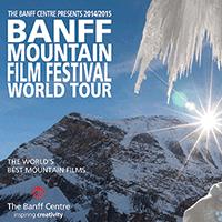 Banff Film festival banner