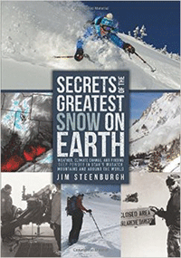 book cover for secrets of the greatest snow on earth