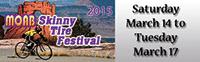Skinny tire festival banner