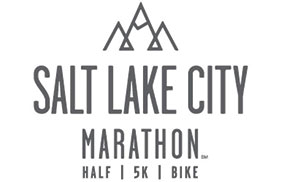 logo for the salt lake marathon