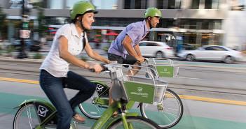 Photo of GREENbike bikers