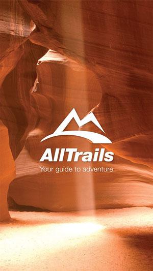 AllTrails app image