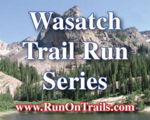 Wasatch trail run series logo