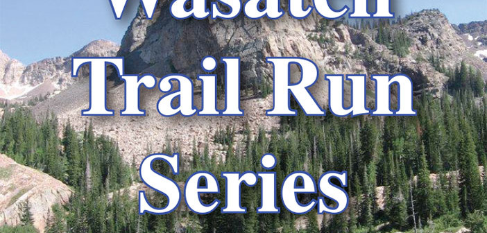 Wasatch trail run series logo