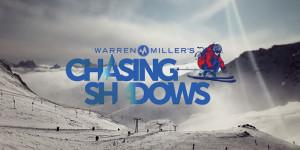 warren miller's chasing shadows logo