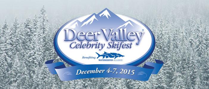 Deer Valley Celebrity Ski event