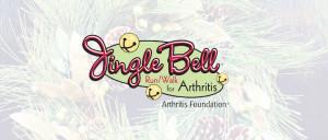 Jingle bell walk or run logo