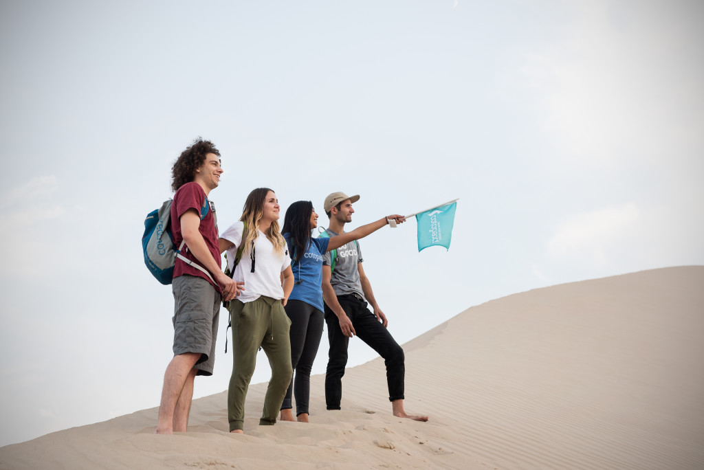 Questival Team at Sand Dunes