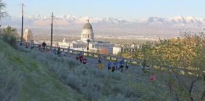 Salt Lake City Half Marathon Capitol hill