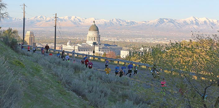 Salt Lake City Half Marathon Capitol Hill