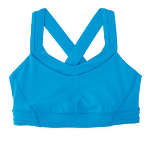 a blue Lululemon Rack Pack Bra