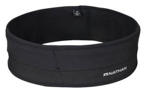 black Nathan Sports Hipster fitness belt