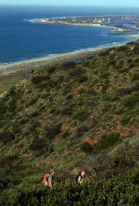 hiking ocean