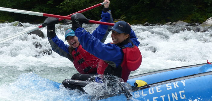 Whitewater Rafting Oregon's Upper Clackamus River