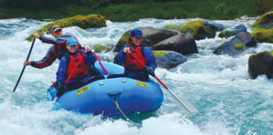 White Water Rafting the Clackamas River