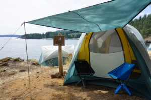 thermarest 2017 tranquilty tent outside