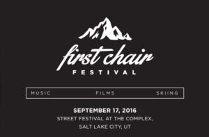 first chair festival logo