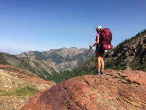 utah women backpacking
