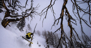 Skier in Utah Powder