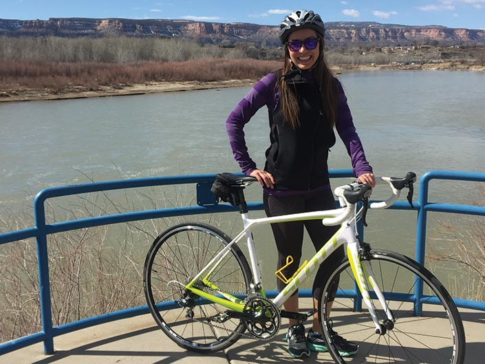 Jenny Willden on Grand Junction River Trail