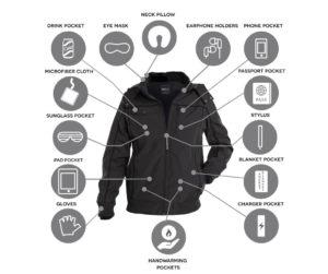 baubax bomber jacket