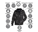 Baubax Bomber jacket product photo