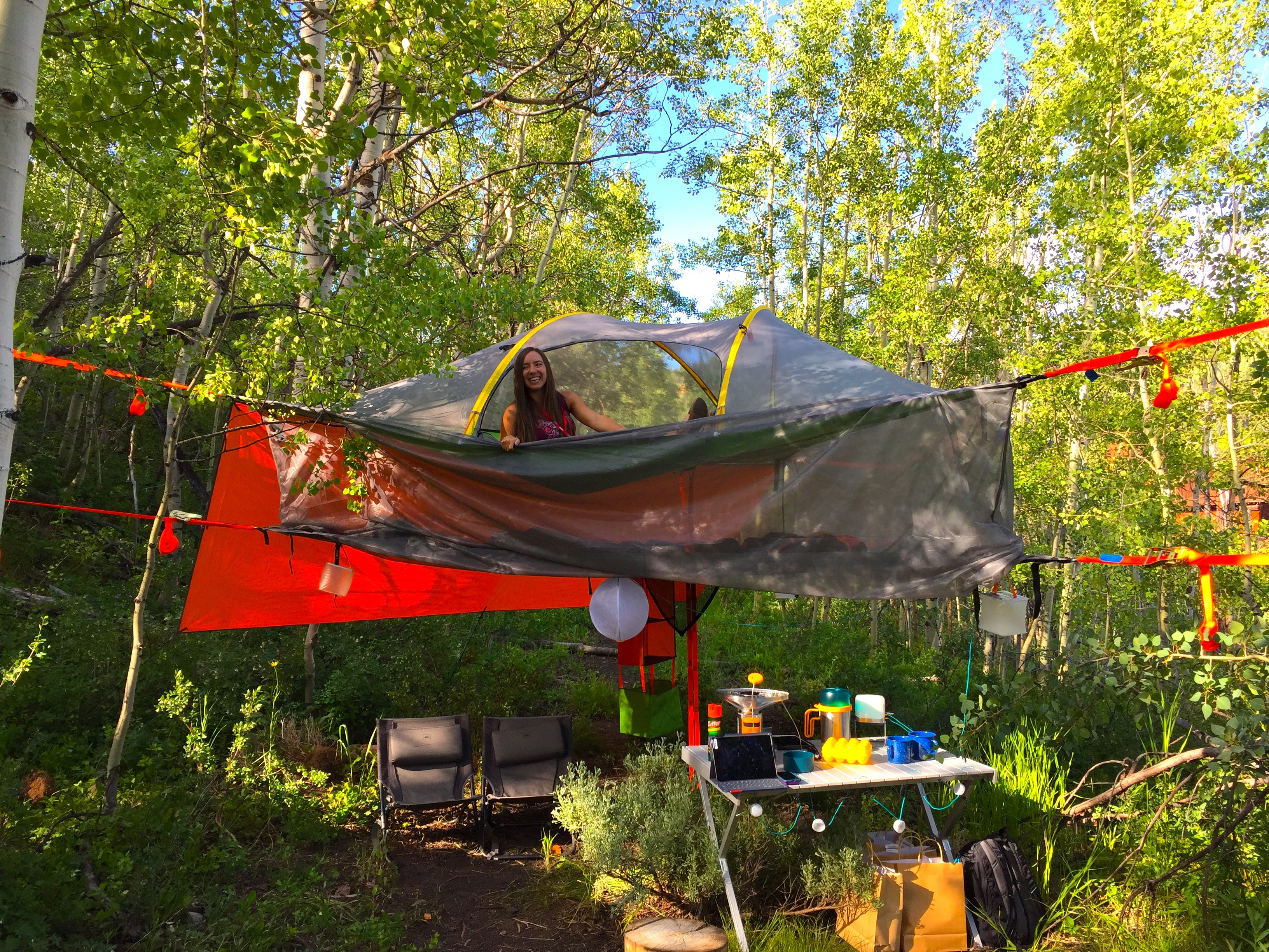 waterfall china hammock by en hang a in great tent your nz bull places tentsile red to
