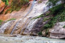 Photo of Kanarraville Falls.