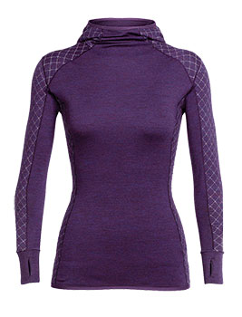 Icebreaker Affinity Thermo Hooded Pullover