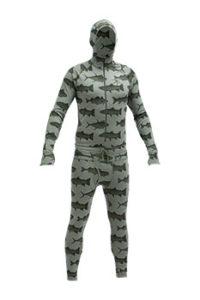 Airblaster Men's Merino Blend Hooded Ninja Suit