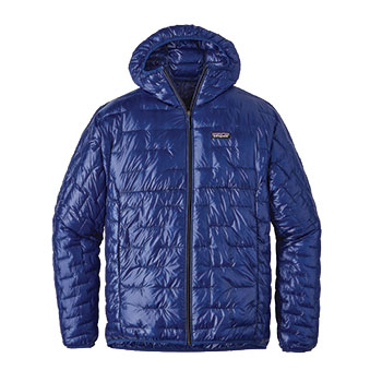 Patagonia Micro Puff Hoody in blue
