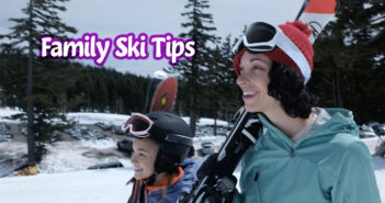 family kids ski tips