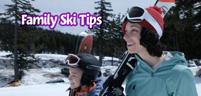 family kids ski tips