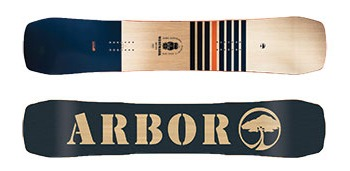 Arbor Westmark Camber and Rocker Snowboards