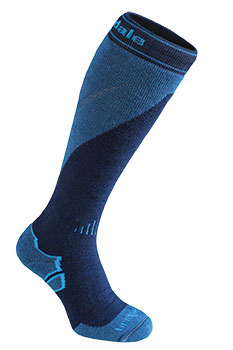 Bridgedale MerinoFusion Ski Mountain Socks in blue
