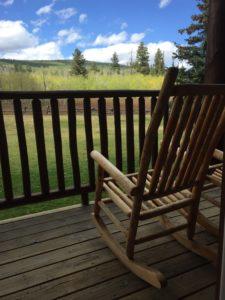 daniels summit lodge porch
