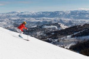 deer valley sold, skier bluebird