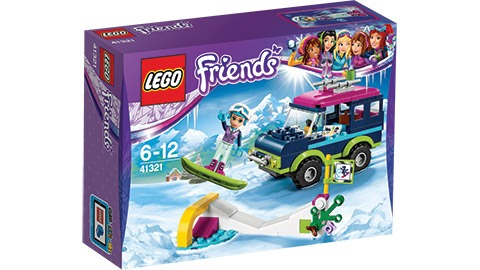 LEGO Friends Snow Resort Off-roader image